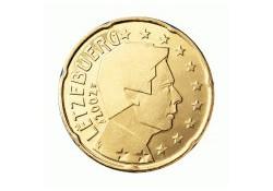 20 Cent Luxemburg 2002 UNC