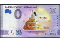 Euro biljet Nederland 2021...