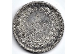 Nederland 1887 5 Cent...