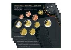 Duitsland 2021 Bu sets ADFG& J