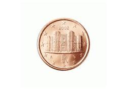1 Cent Italië 2002 UNC