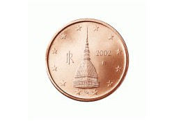 2 Cent Italië 2002 UNC