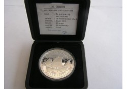 25 Gulden NA 1999 Ontmoeting der culturen Proof Incl dsje & cert