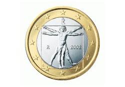 1 Euro Italië 2002 UNC