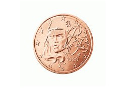 2 Cent Frankrijk 2002 UNC