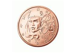 5 Cent Frankrijk 2002 UNC
