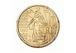 20 Cent Frankrijk 2001 UNC