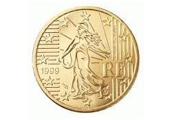 50 Cent Frankrijk 1999 UNC