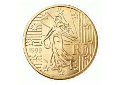 50 Cent Frankrijk 2000 UNC