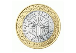 1 Euro Frankrijk 2000 UNC