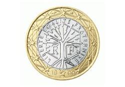 1 Euro Frankrijk 2001 UNC