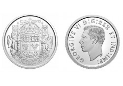 Canada 2021 50 Cents '100th...