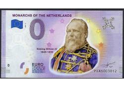 0 Euro biljet Nederland...