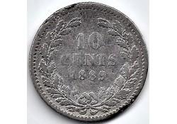 Nederland 1889 10 Cent...