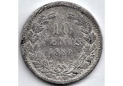 Nederland 1882 10Cent...