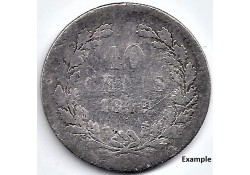 Nederland 1849. 10Cent...