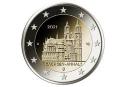 2 Euro Duitsland 2021 A...
