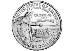 U.S.A ¼ Dollar Crossing the...