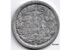 Nederland 1917 25 Cent...