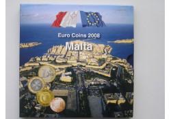 Bu set Malta 2008 Officieel met zegels