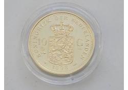 Replica 10 Gulden goud 1898. (Zilver)
