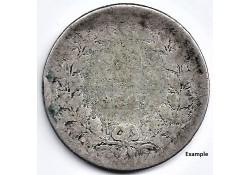 Nederland 1849 25 Cent...