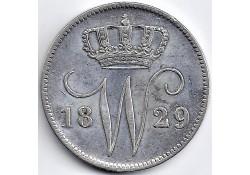 Nederland 1829B. 25 Cent...