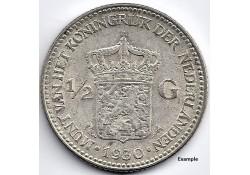 Nederland 1930 ½ Gulden...