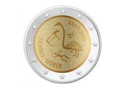 2 Euro Estland 2021 'Oegrische volkeren' Unc