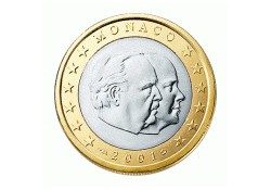 2001 1 Euro Monaco UNC