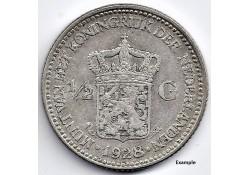 Nederland 1928 ½ Gulden...