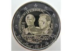2 Euro Luxemburg 2021 '100...