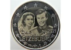 2 Euro Luxemburg 2021 '40...