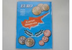 Lindner opbergmapje 2008 voor Cyprus leeg