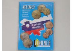 Lindner opbergmapje 2007 voor Slovenië leeg