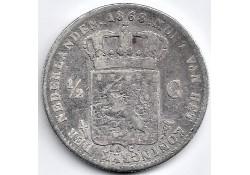 Nederland 1868 ½ Gulden...