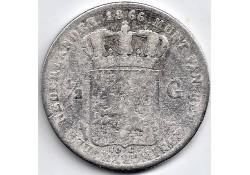 Nederland 1866 ½ Gulden...