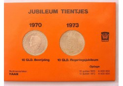 Serie tientjes 1970 en 1973 Juliana