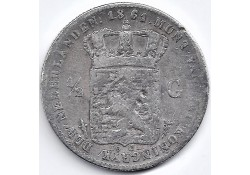 Nederland 1861 ½ Gulden...
