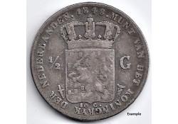 Nederland 1848 ½ Gulden...
