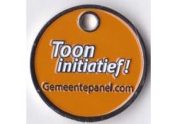 Winkelwagen munt Provincie...
