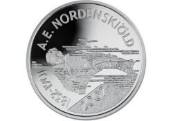 Finland 2007 10 Euro Zilver A.E.Nordenskiöld Proof