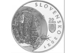 Slowakije 2021 20 Euro...
