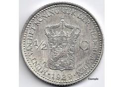 Nederland 1929 ½ Gulden...