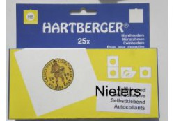 Munthouders Hartberger, nieters, 40 rond 25 st.