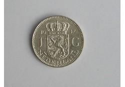 1 Gulden 1957 ZF+