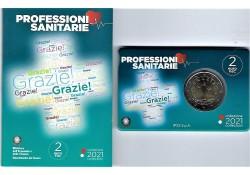 2 euro Italië 2021 'Grazie'...