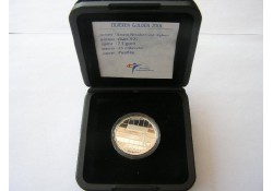 1 Gulden 2001 Zilver Proof