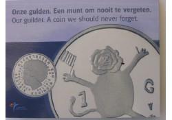 1 Gulden 2001 Leeuwtje FDC