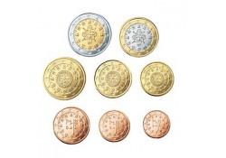 Serie Portugal 2003 UNC (alle 8 de munten)